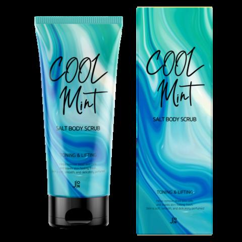 J:On Cool Mint Salt Body Scrub антицеллюлитный скраб для тела с ментолом