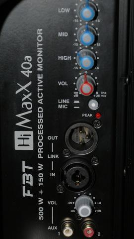 Акустические системы активные FBT HiMaxX 40A
