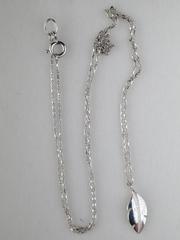 0320226 (серебряная цепочка с подвеской)