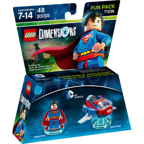 LEGO Dimensions: Fun Pack: Супермен 71236 — Superman — Лего Измерения