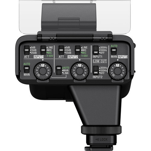 XLR-K3M комплект XLR-адаптера купить с микрофоном в Sony Centre для камер Alpha