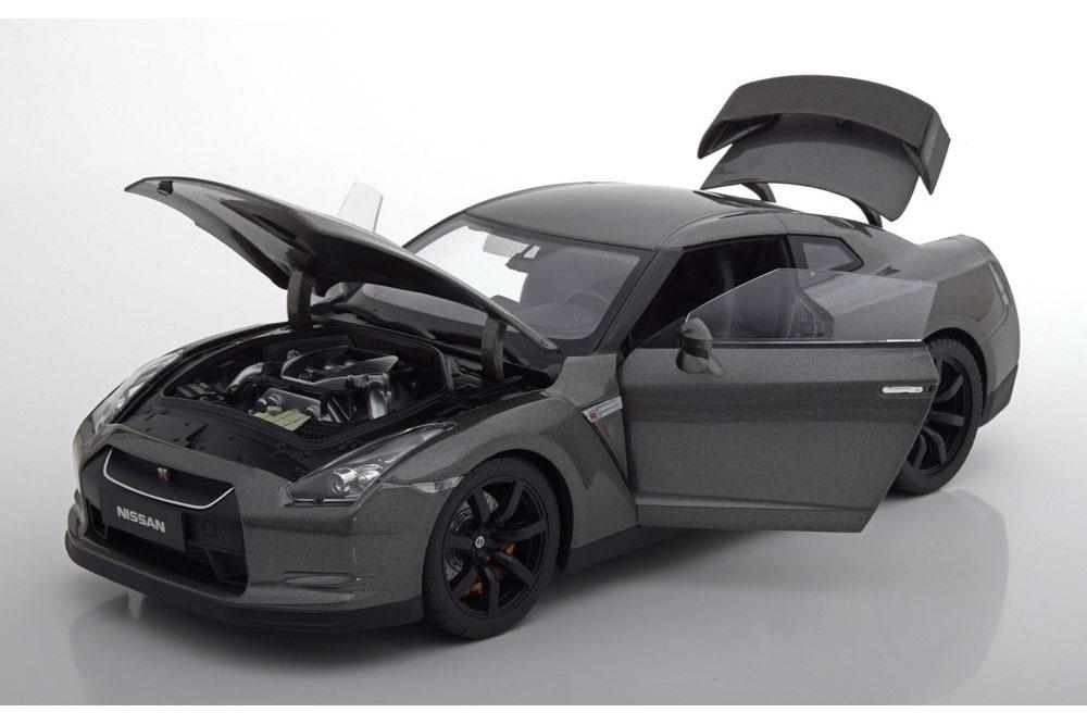 Коллекционная модель NISSAN GT-R (R-35) 2008 DARK GREY METALLIC