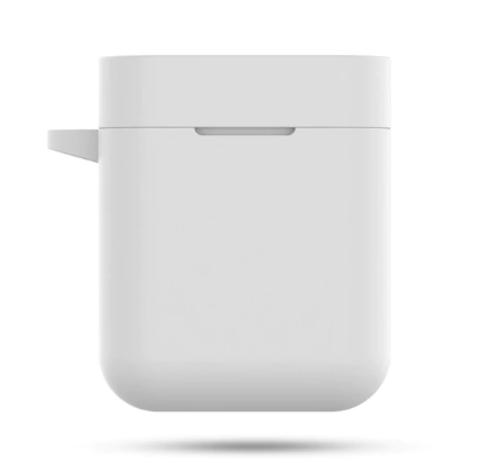 Чехол на Xiaomi Airdots Pro силиконовый (белый)