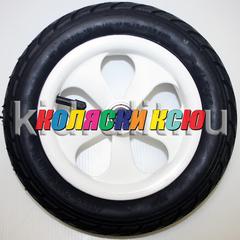 Колесо для детской коляски №003053 надув 10дюймов без вилки 54-152 10х2,0 (втулка на ось 8мм)