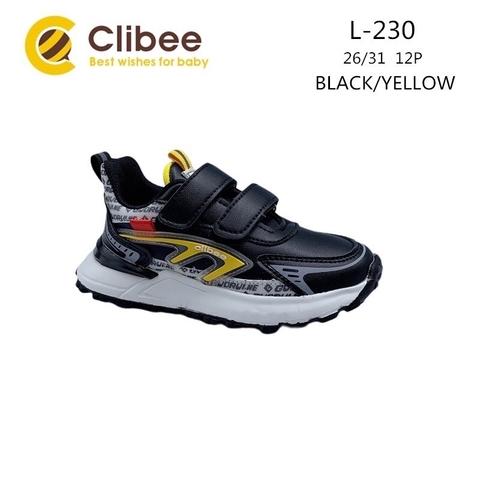 Clibee L230 Black/Yellow 26-31