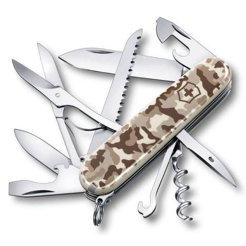 Нож перочинный Victorinox Huntsman (1.3713.941) 91мм 15функций камуфляж пустыни