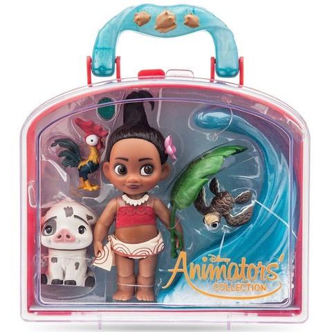Дисней Моана Аниматор набор с мини-куклой
