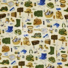 Ткань для пэчворка, хлопок 100% (арт. X0806)