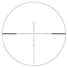 Оптический прицел Veber Wolf II 5-30x56 SF IG RF1 с масштабируемой сеткой FFP