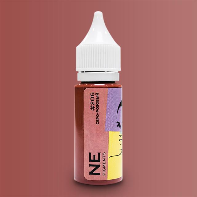 Пигмент NE Pigments #206 Серо-розовый