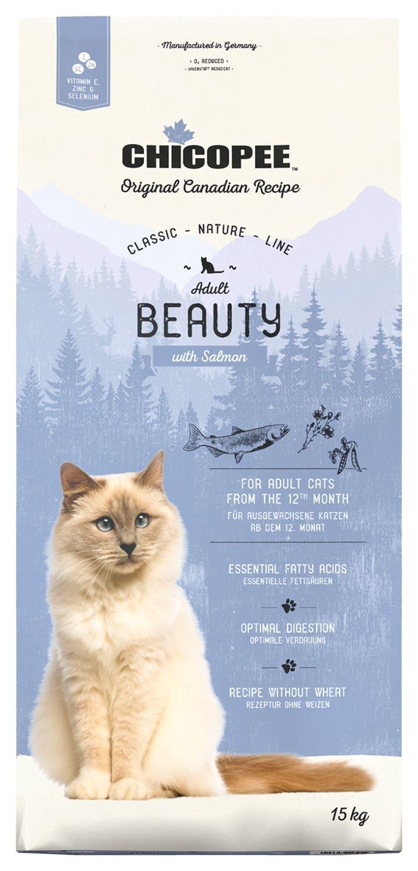Купить корм CHICOPEE CNL Cat Adult Beauty Salmon для кошек
