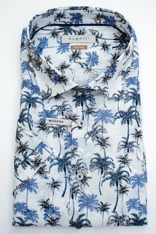 BUGATTI Сорочка в пальмы