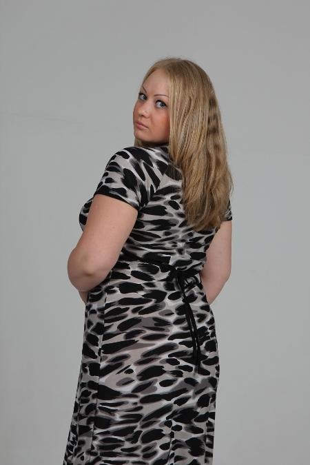 Выкройка платья с рукавом «фонарик»