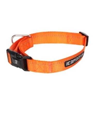 Ошейник ICEPEAK PET WINNER BASIC COLLAR, 100% полиэтер , оранжевый, размер M