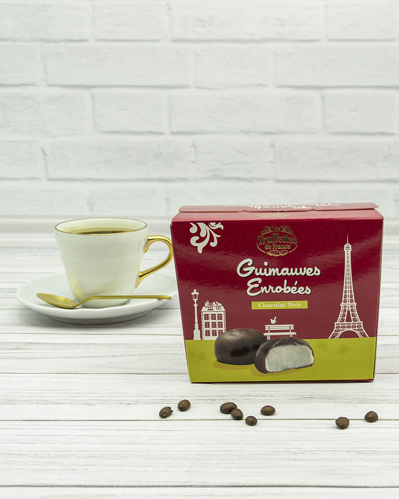 Зефир Chocmod Truffettes de France Покрытый Темным Шоколадом 200 гр.