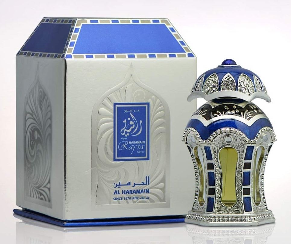 Al Haramain Perfumes Rafia Silver Perfumed Oil