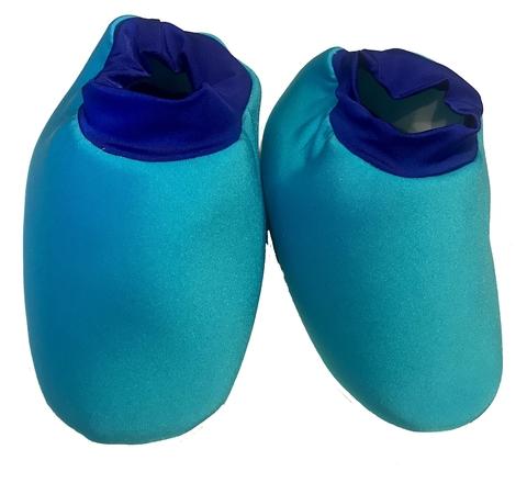 Обувь синего человечка