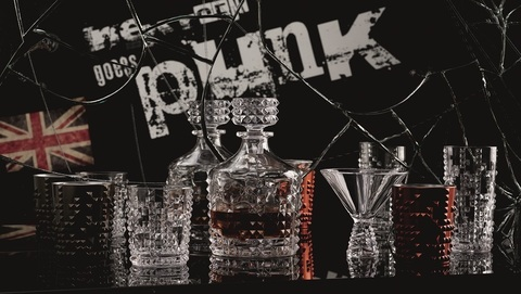 Бокал Whisky Gum Metal 348 мл артикул 100053. Серия Punk