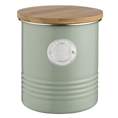 Емкость для хранения кофе Living оливковая 1 л