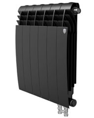 Радиатор Royal Thermo BiLiner 350 V Noir Sable - 12 секций