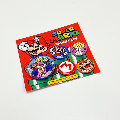 Набор значков Super Mario