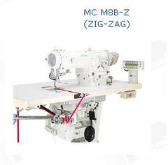Фото: Устройство для нижней подачи резинки (тесьмы), с размотчиком, в сборе. Под зиг-заг MC M8B-Z