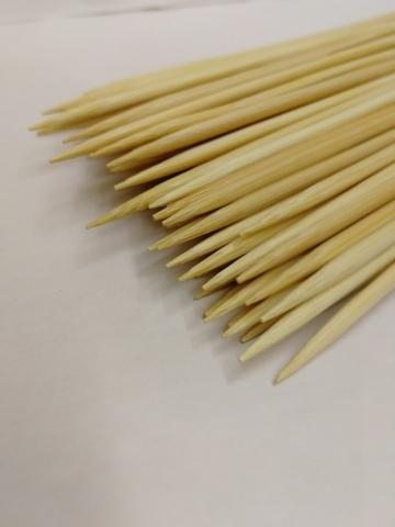 Деревянные шпажки (размер: H20 см х d2,5 мм), упаковка 100 шт.
