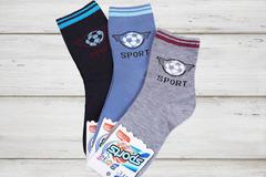C195 носки детские (12шт), цветные