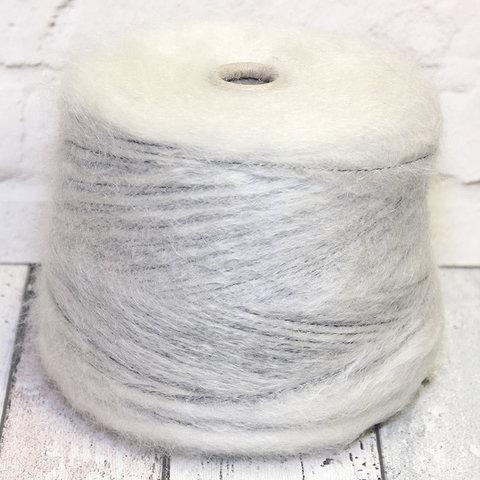 Мохер 230 IGEA /BATUFFOLO белый на темной основе