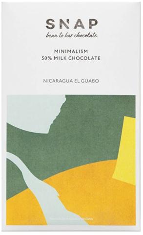 Шоколад SNAP Minimalism Milk 50%