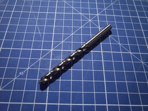 Сверло по металлу ц/x 5,5x93/57мм DIN338 h8 5xD HSSE-Co8 VA 130° Ruko 281055E (В)