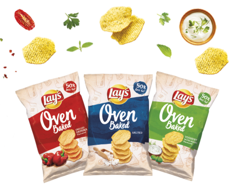 Чіпси lay's Oven Baked