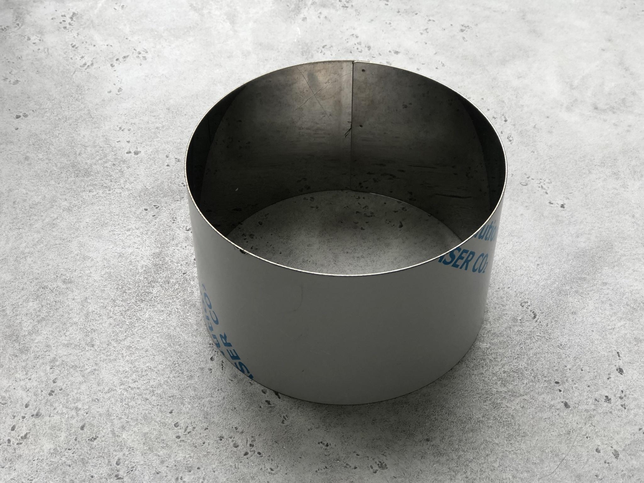 Металлическая форма кольцо, 18х10 см