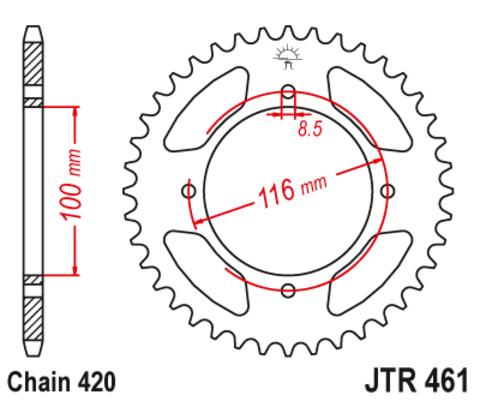 JTR461