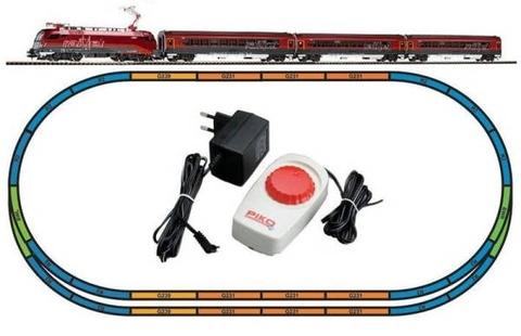Пассажирский поезд - Электровоз + 3 вагона, OBB