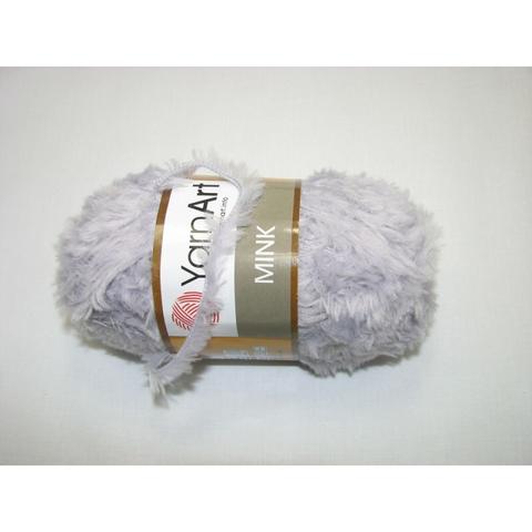 Пряжа YarnArt Mink - (334 - светло-серый)