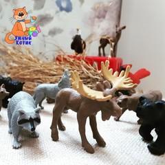 Набор фигурок Обитатели леса, Safari Ltd.