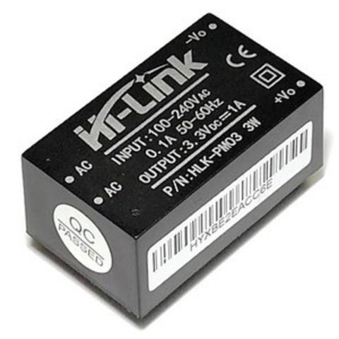 Модуль питания HLK-PM03 AC/DC 3.3VDC/3W