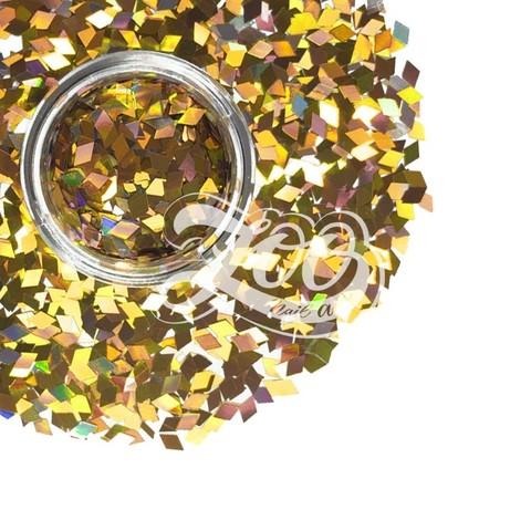 1146 Ромбики для дизайна Zoo (бронзовые)
