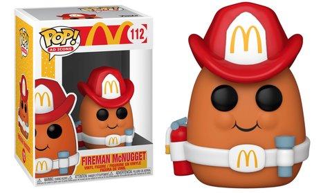 Fireman McNugget (McDonalds) Funko Pop! Vinyl Figure || МакНаггет пожарный