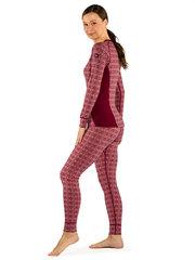 Devold термобелье брюки Alnes Woman Long Johns Foxglove