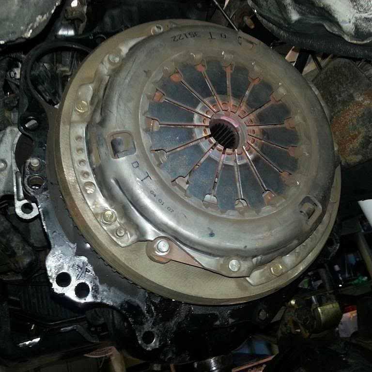 Замена сцепления Mitsubishi L200