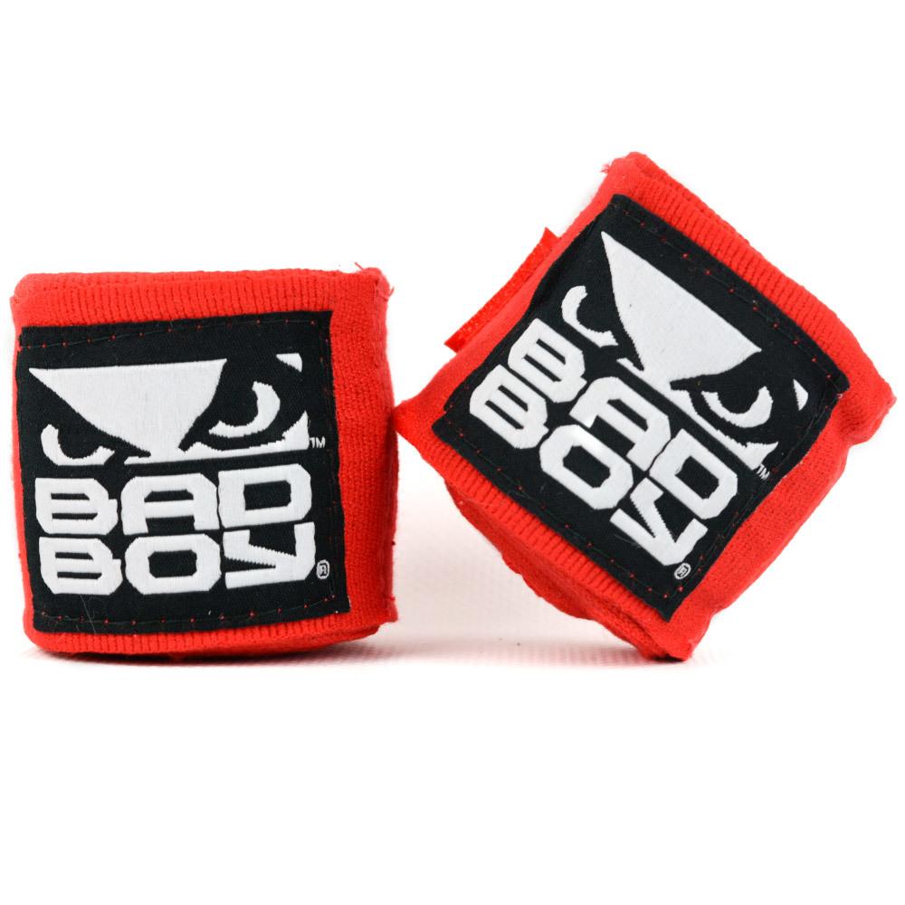 Капы и бинты Бинты Bad Boy Combat Hand Wraps 3.5 м Red 1.jpg