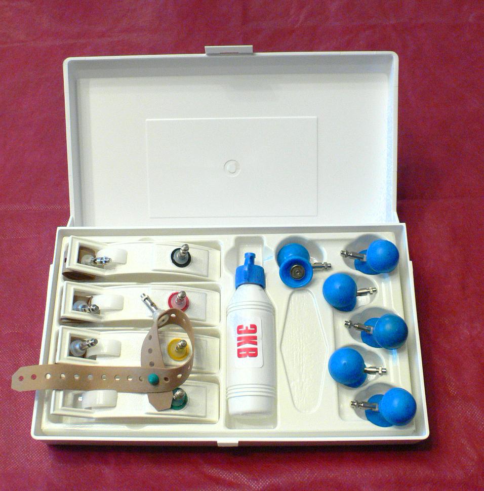 Электроды ЭКГ многоразовые  в наборе педиатрическом для детей от 0 до 10 лет