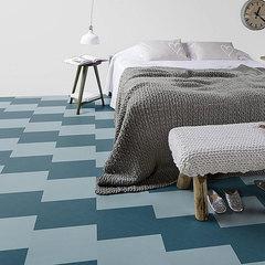 Мармолеум замковый Forbo Marmoleum Click Square 300*300 333360 Vintage Blue