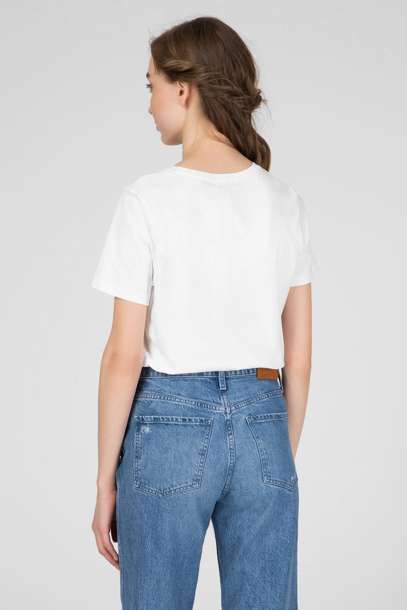 Женская белая футболка ANNIE REGULAR Tommy Hilfiger
