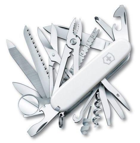 Нож Victorinox SwissChamp, 91 мм, 33 функции, белый123