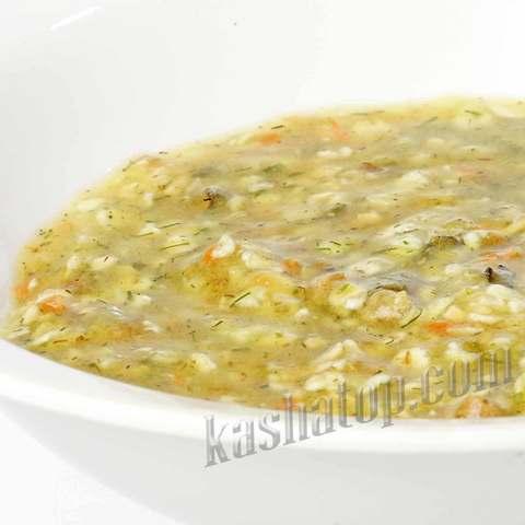 Суп перловый с мясом 'Леовит', 40г.