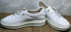 Женские утепленные кроссовки туфли спортивные женские Rozen M-520 All White.