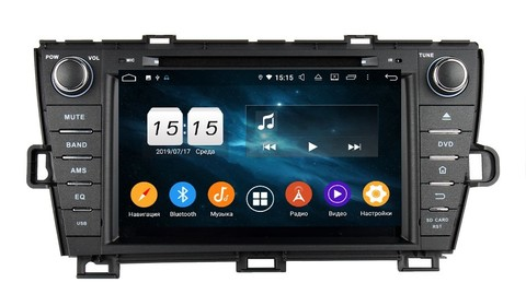 Магнитола  для Toyota Prius 30 (2009-2015) Android 9.0 4/64 IPS DSP модель  KD 8004PХ5